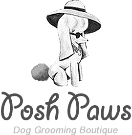 Posh Paws Dog Grooming Boutique's Logo